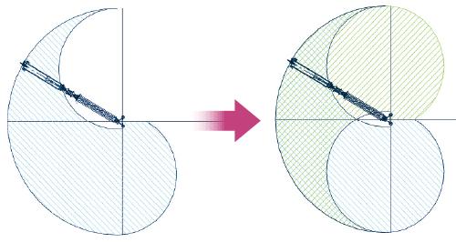 """図4 <span class=""""f_bn"""">■</span> 可動範囲を1.5倍に改良"""