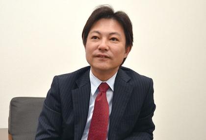 「健康寿命を延ばす手助けをしたい」と語る玉田秀明社長