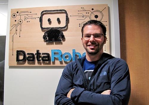 """<span class=""""fontBold"""">データロボットを創業したジェレミー・アシンCEO(最高経営責任者)</span>"""