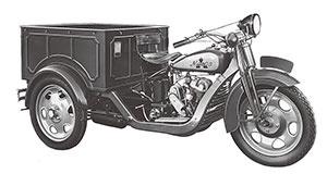<b>マツダが1931年に製造したDA型三輪トラック第1号車</b>(写真提供=マツダ)