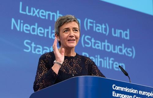 欧州委員会は会見の中で欧米フィアット・クライスラー・オートモービルズに対するルクセンブルクの税優遇措置も違法と指摘した(写真=AP/アフロ)
