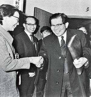 <b>1970年にハイジャックされた「よど号」に偶然乗り合わせた日野原重明氏。この出来事が日野原氏の考えを大きく変えた</b>