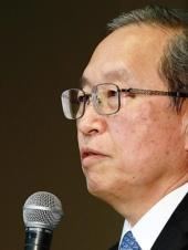 <b>③綱川智社長は原発事業の位置付けを下げた</b>(写真=竹井 俊晴)
