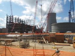 <b>米国の原発建設現場。WHが2008年に受注したが、10年近くたっても稼働に至っていない</b>