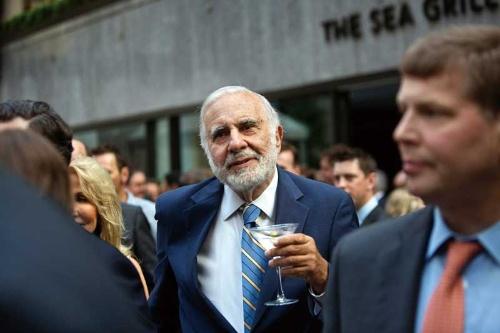 "<span class=""fontBold"">富士フイルムの米ゼロックス買収に待ったをかけたカール・アイカーン氏</span>(写真=Bloomberg/Getty Images)"