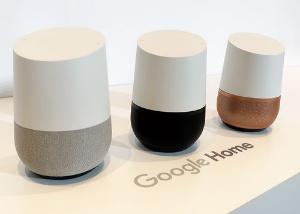 "<span class=""fontBold"">米グーグルが日本で発売したAIスピーカー「グーグルホーム」</span>"