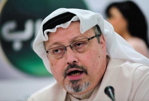 "<span class=""fontBold"">サウジアラビア政府は記者のジャマル・カショギ氏が総領事館内で殺害されたと認めた</span>(写真=AP/アフロ)"