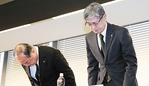 "<span class=""fontBold"">副操縦士逮捕後、JALは検査が不正に行われた可能性を明かした</span>(写真=時事)"