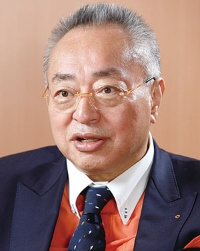 <b>起業家養成機関として知られるNSGグループの池田弘代表</b>(写真=村田 和聡)