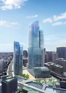<b>三菱地所も東京駅前の「高さ日本一ビル」を軸に再開発を強化する</b>