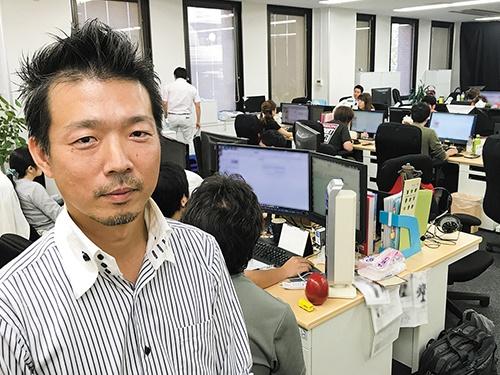 ぼん家具の立石幸士社長は、アマゾンで成長して新オフィスを立ち上げた