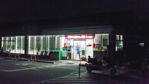午前1時、看板の明かりが消えた……