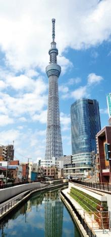 "<span class=""fontBold"">KYB製品を使う東京スカイツリーは「安全宣言」を出した</span>(写真=アフロ)"