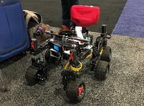 """<span class=""""fontBold"""">NASAのエンジニアがRoboMakerを使って作った小型の探査機</span>"""