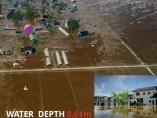 データで革新する災害対応 1cm単位の浸水予測、数時間で