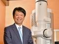 日本電子社長「『70年目の転進』はコミュニケーションから」