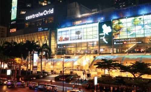バンコクにあるセントラル・グループの 旗艦モール「セントラル・ワールド」