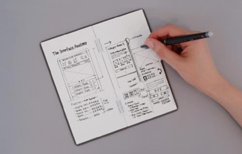 """<span class=""""fontBold"""">バタフライボードはメモ帳サイズをはじめ複数のタイプを展開。ECのほか大手小売りの販路も</span>"""