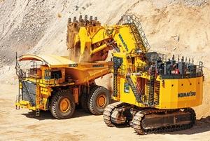 "<span class=""fontBold"">鉱山機械はCO<sub>2</sub>削減要求が強い</span>"