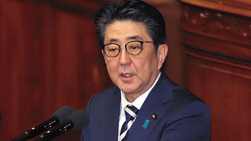 """<span class=""""fontBold"""">安倍晋三首相は、新規国債発行額を減らしていることを強調するが……</span>(写真=つのだよしお/アフロ)"""