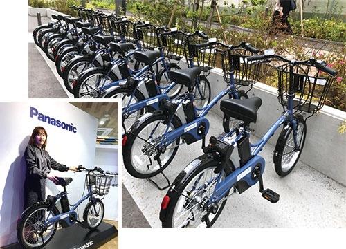 "<span class=""fontBold"">パナソニックは横浜市でシェア自転車サービスを始める</span>"