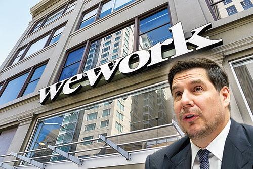"""<span class=""""fontBold"""">SBGはウィーワークへの1兆円の支援とマルセロ・クラウレ副社長(右下)の""""登板""""を決定した</span>(写真=左上:ロイター/アフロ、右下:AP/アフロ)"""