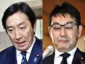菅氏に逆風、ポスト安倍に影響も 相次ぐ閣僚辞任で政権に打撃