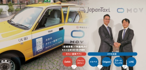 """<span class=""""textColTeal"""">「新規事業」で再編相次ぐ<br /><small>●ネット企業を取り巻く再編図</small></span>"""