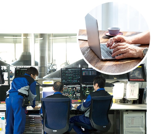 """<span class=""""fontBold"""">アサヒGHDはビールの生産設備を遠隔で監視・制御できるシステムの導入を検討中</span>(写真=右:PIXTA)"""