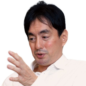 "<span class=""fontBold"">メルカリの山田社長は電子市場の原則を定める会議を設けた</span>(写真=竹井 俊晴)"