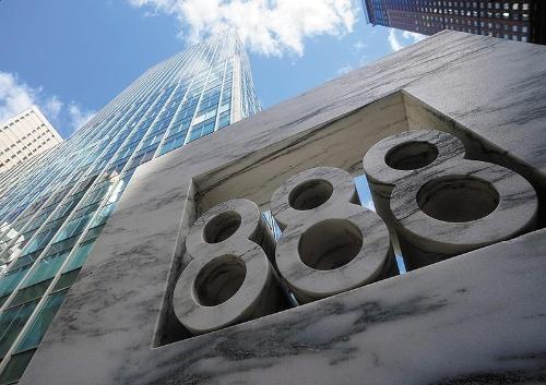 """<span class=""""fontBold"""">米投資会社アルケゴス・キャピタル・マネジメントが入居しているとされるニューヨーク、マンハッタンのオフィスビル</span>(写真=ロイター/アフロ)"""