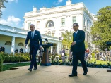 日米首脳会談で「対中国」連携確認 日本が直面、経済・安保の狭い道