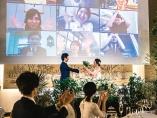 逆風下、広がるハイブリッド結婚式 リアル参加と中継の合わせ技