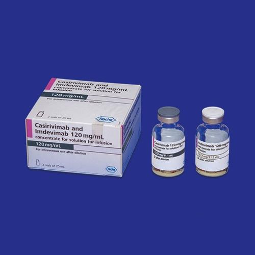 """<span class=""""fontBold"""">日本で4番目の新型コロナウイルス感染症の治療薬として承認されたロナプリーブ。転用ではなく、当初から新型コロナ向けに開発された</span>"""
