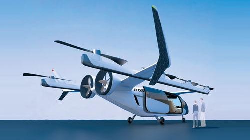 """<span class=""""fontBold"""">開発中の空飛ぶクルマはガスタービンと電池のハイブリッド式</span>"""