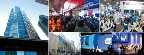 "<span class=""fontBold"">製薬・バイオ産業の世界最大の国際会議「BIO2019」には世界中から約1万7000人が参加。大半の参加目的は商談だが、経営者や投資家、政治家、政府関係者、患者団体代表などによる講演やディスカッションも行われる</span>"