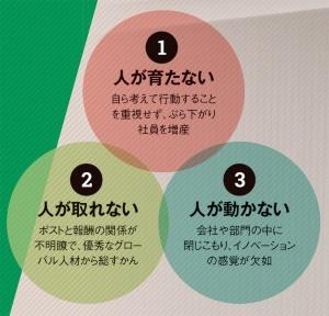 "<span class=""fontSizeL"">日本型雇用の負の側面</span>"
