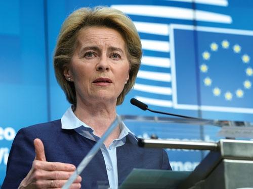 欧州委員会のフォンデアライエン委員長