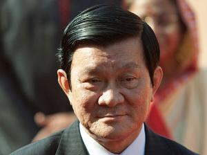 """<span class=""""fontBold"""">ベトナムのチュオン・タン・サン国家主席。ベトナム共産党の序列は第2位。日本の政財界とのパイプが太い「知日派」で、今年6月にも訪日した</span>(写真=Bloomberg/Getty Images)"""