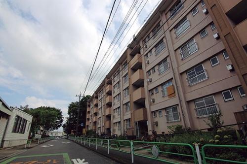 """<span class=""""fontBold"""">高度経済成長期に建設された東京都清瀬市の旭が丘団地。 高齢化に伴って、活気を失う「昭和の郊外団地」の典型といえる</span>"""