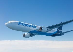 """<span class=""""fontBold"""">荷物を早く届けるためのジェット機も運用</span>"""