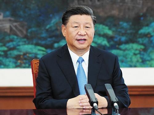 """<span class=""""fontBold"""">中国の習近平(シー・ジンピン)国家主席は昨年9月22日、国連総会のビデオ演説で2060年までにCO<sub>2</sub>排出を実質ゼロにすると宣言</span>(写真=新華社/アフロ)"""