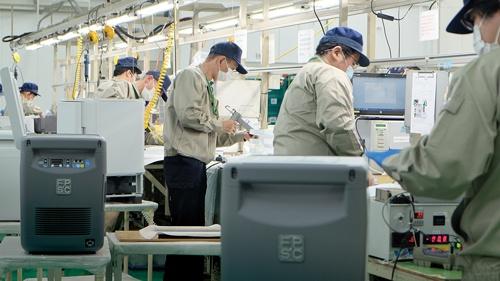 """<span class=""""fontBold"""">ツインバード工業はディープフリーザーの需要に応えるため生産ラインを増強した</span>"""