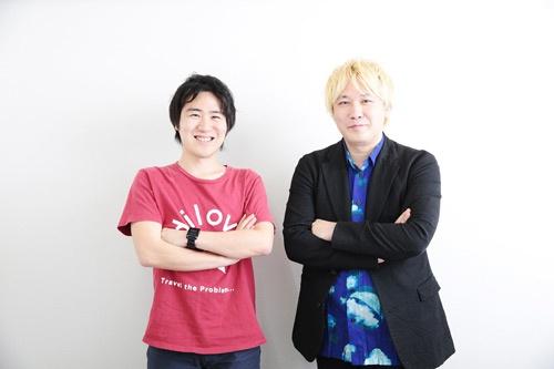 津田大介さん(右)と安部敏樹さん(写真:鈴木愛子、以下同)