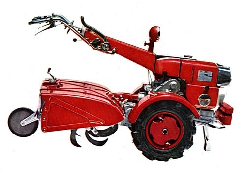 ライフクリエーション事業本部の主力製品となる発電機や耕うん機