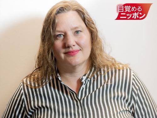 『ファクトフルネス』(日経BP)の著者の1人、アンナ・ロスリング・ロンランド氏(写真:藤村 豪=DreamMovie)