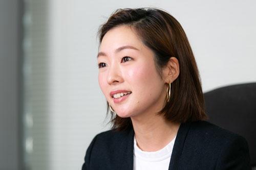 アンドユー代表取締役の松田愛里氏(写真:的野 弘路)