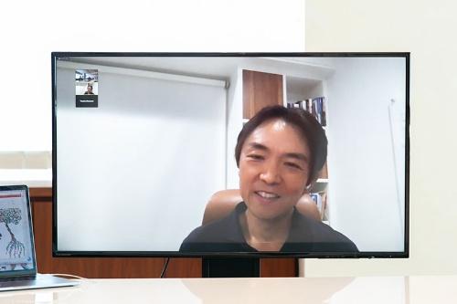 シリコンバレーから参加したWiL共同創業者兼CEOの伊佐山元氏(写真:的野 弘路)