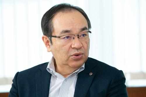 花王代表取締役専務執行役員の長谷部佳宏氏(写真:的野 弘路)