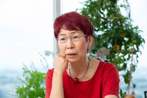 社会学者の上野千鶴子氏(写真:的野弘路)